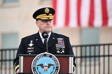 Chef d'état-major de l'armée américaine «Nous sommes au milieu d'un changement fondamental dans le caractère de la guerre»)