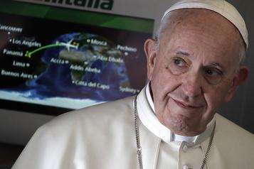 Union civile des couples homosexuels Selon des médias, des propos du pape ont été censurés en 2019)