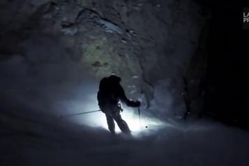 Les Dolomites, la nuit