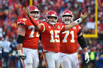 Laurent Duvernay-Tardif et les Chiefs au Super Bowl face aux 49ers