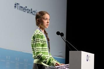 Climat : 2020 sera l'«année de l'action», selon Greta Thunberg