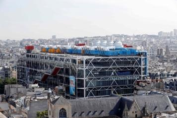 Travaux de restauration Le Centre Pompidou fermera de 2023 à 2027)