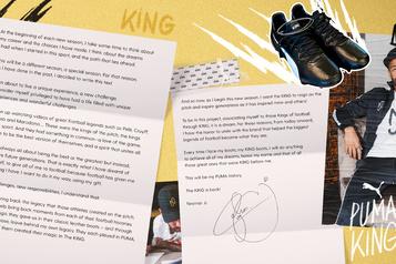 Football: Neymar signe avec Puma, qui tient sa tête d'affiche)