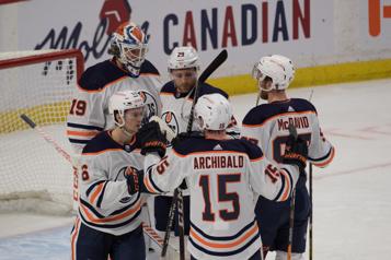 Gain de 3-1 des Oilers à Ottawa)