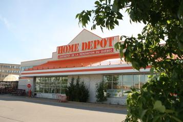 Les résultats de Home Depot encore portés par la pandémie)