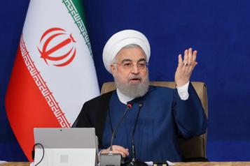 Iran Rohani : pas question de plier malgré les sanctions américaines ??inhumaines??)