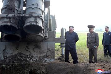 La Corée du Nord dit avoir testé un «lanceur de missiles multiples»