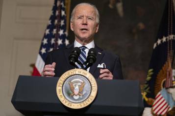 Biden promet de mener la réponse mondiale à la crise du climat)