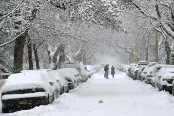 La première tempête de l'année s'abat sur le Québec)