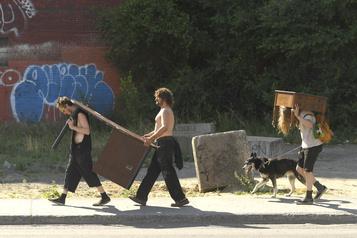 Lendemain du 1erjuillet: 373ménages sans logement)