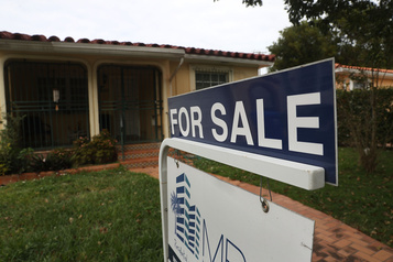 É.-U.: recul des reventes de logements en janvier