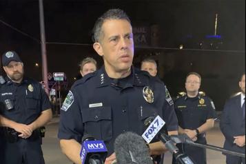 Texas Une fusillade fait 14blessés à Austin)