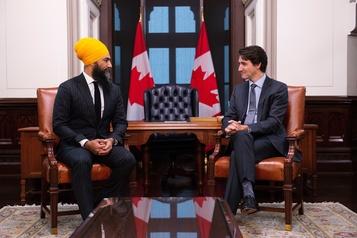 Trudeau devra choisir entre le NPD et les conservateurs, selon Singh