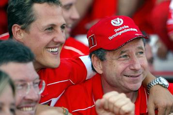 F1: Jean Todt espère «pouvoir assister un jour à un GP» avec Schumacher