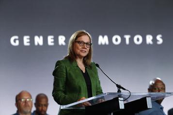 General Motors Mary Barra plaidera pour l'électrification au CES)