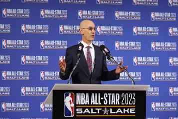 Les étoiles de la NBA à Salt Lake City en 2023