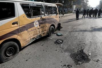 Afghanistan Au moins huitmorts dans des explosions à Kaboul )