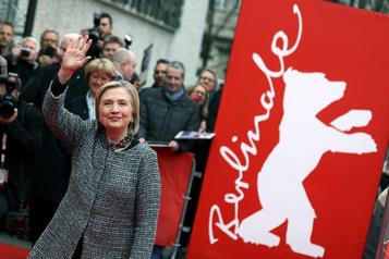 Hillary Clinton arrive àBerlin