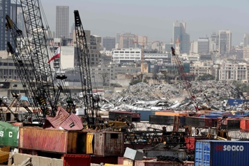 Beyrouth La reconstruction du port attise les convoitises internationales)