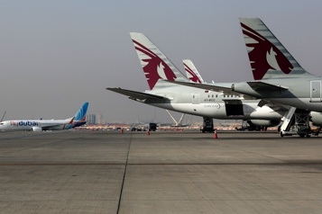 Litige Boeing-Airbus Washington suspend les surtaxes douanières contre les produits britanniques)