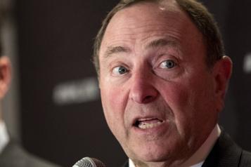 Communiqué sur George Parros Une amende de 250000$ pour les Rangers)