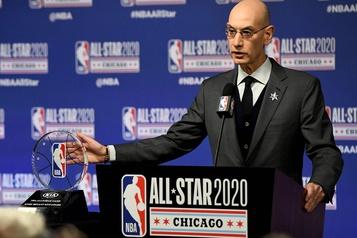 Le commissaire de la NBA croit que la saison pourra redémarrer