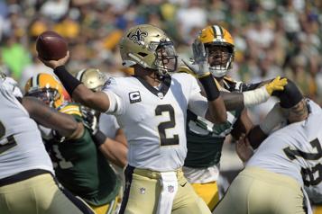 Les Saints se moquent des Packers)