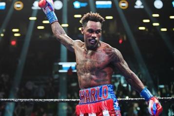 Boxe Le champion du monde des poids moyens Jermall Charlo arrêté pour vol)