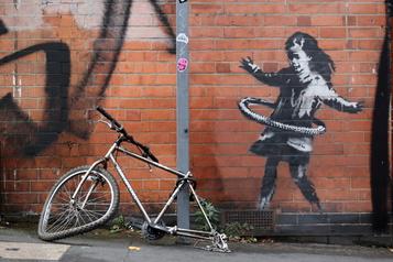 Banksy revendique une œuvre à Nottingham)