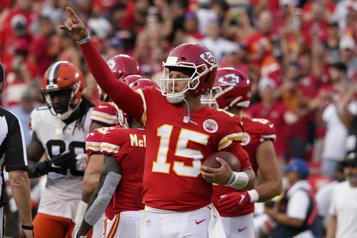 Les Chiefs viennent à bout des Browns)