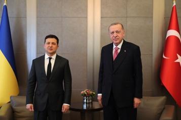 Relations Ukraine-Russie Erdogan ne souhaite pas une «hausse des tensions»)