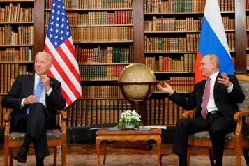 Sommet Biden-Poutine Les «lueurs» du sommet deGenève)