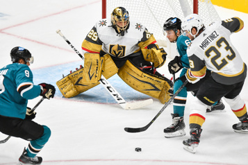Le match Golden Knights-Sharks de jeudi reporté)