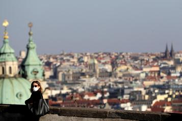 En République tchèque, lemasque est roi
