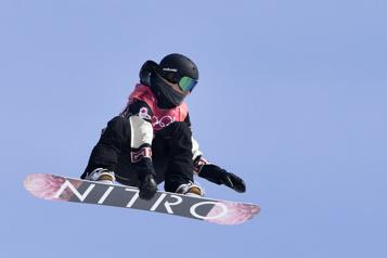 Surf des neiges Laurie Blouin sauve les meubles et termine quatrième)