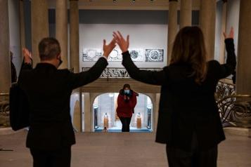 La joie de retrouver le chemin des musées à Montréal)