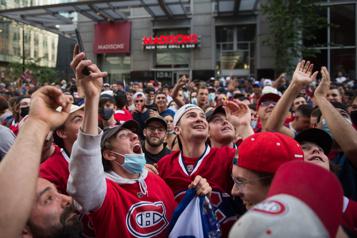 Canadien-GoldenKnights Ambiance survoltée... et quadrilatère fermé)