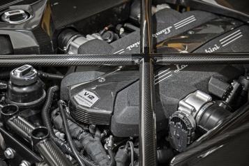 Lamborghini  Un dernier au revoir au V12 atmosphérique)