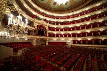 Russie Un danseur du Bolchoï tué sur scène lors d'un changement de décor