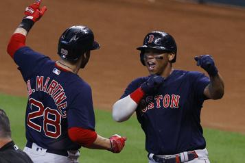 Les Red Sox l'emportent lors d'une soirée historique