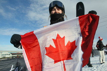 La skieuse Megan Oldham remporte la médaille de bronze à la Coupe du monde
