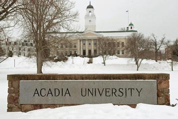 Université Acadia: un bel endroit pour le football