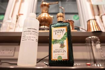 Une distillerie de Dublin produit désormais du désinfectant