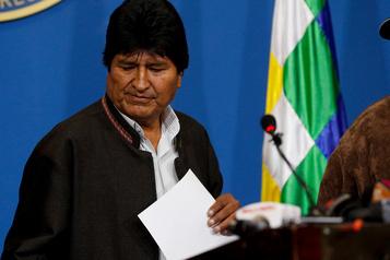 Bolivie: la crise s'aggrave, démissions en série autour d'Evo Morales