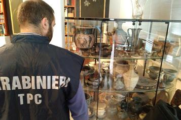 Un réseau de fouilles archéologiques illégal démantelé en Italie