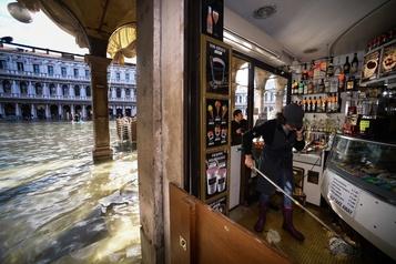 L'état d'urgence décrété à Venise après une inondation historique
