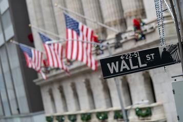 Wall Street dans le rouge, minée par un rapport sur l'emploi