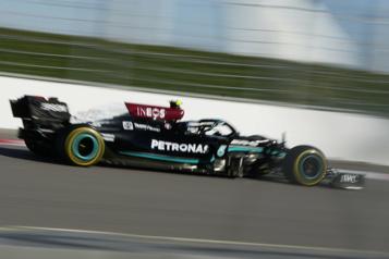 Grand Prix de Russie Mercedes domine les premiers essais