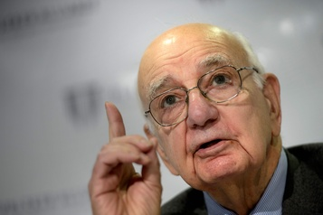 L'ex-président de la Fed Paul Volcker s'éteint