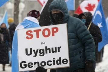 Génocide contre les Ouïghours La Chine furieuse du vote aux Communes)